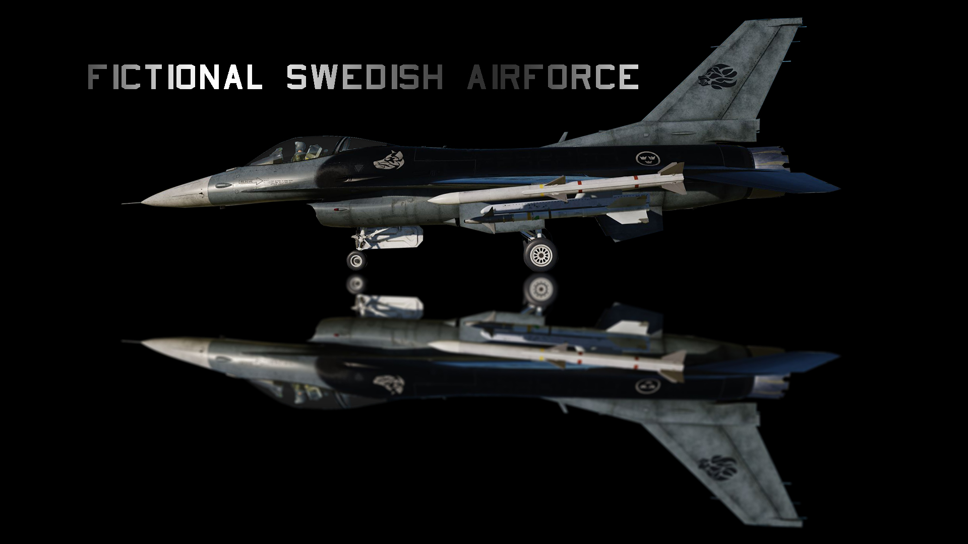 Fictional Swedish Airforce