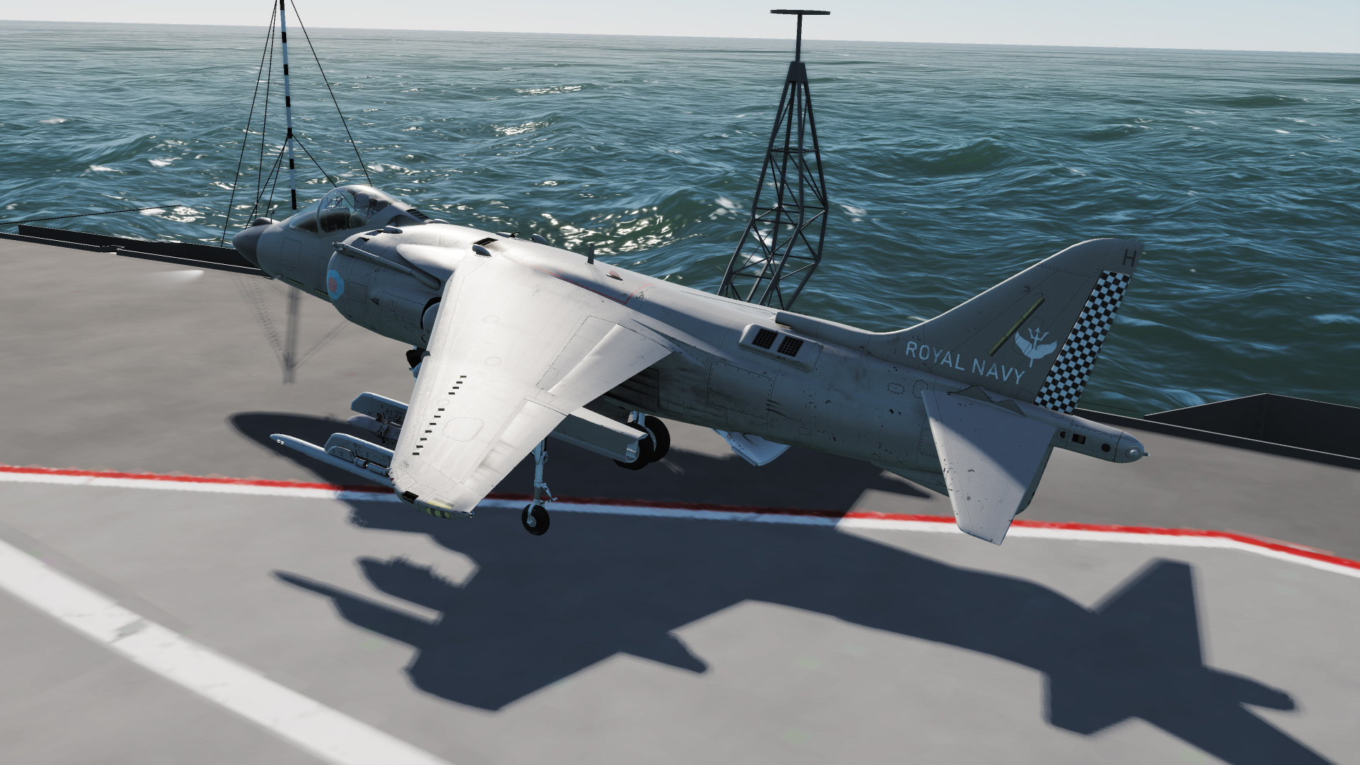 Fictional RAf and RN FAA Harrier liveries V2.0