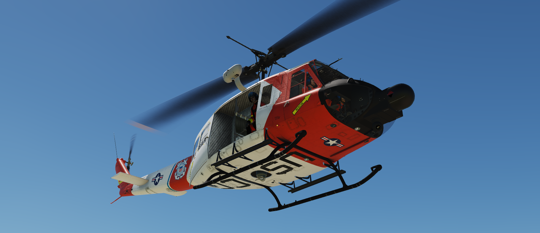 UH-1 US Coast Guard Livery