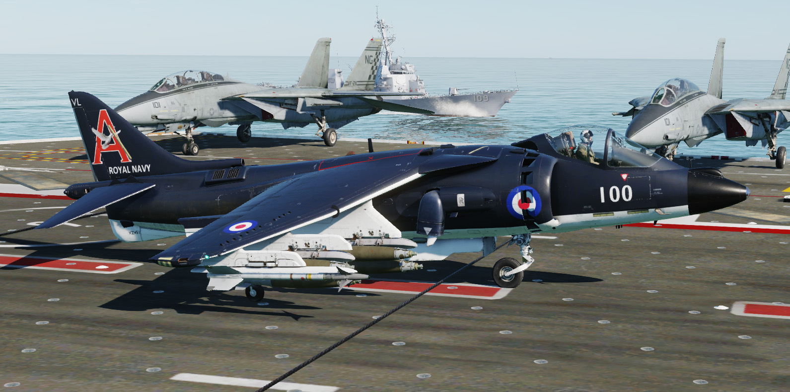 AV-8B Harrier II Royal Navy 700A Naval Air Squadron