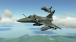 Mirage 2000C Grey-Green Camo Skin EE and XF Armee De L'air