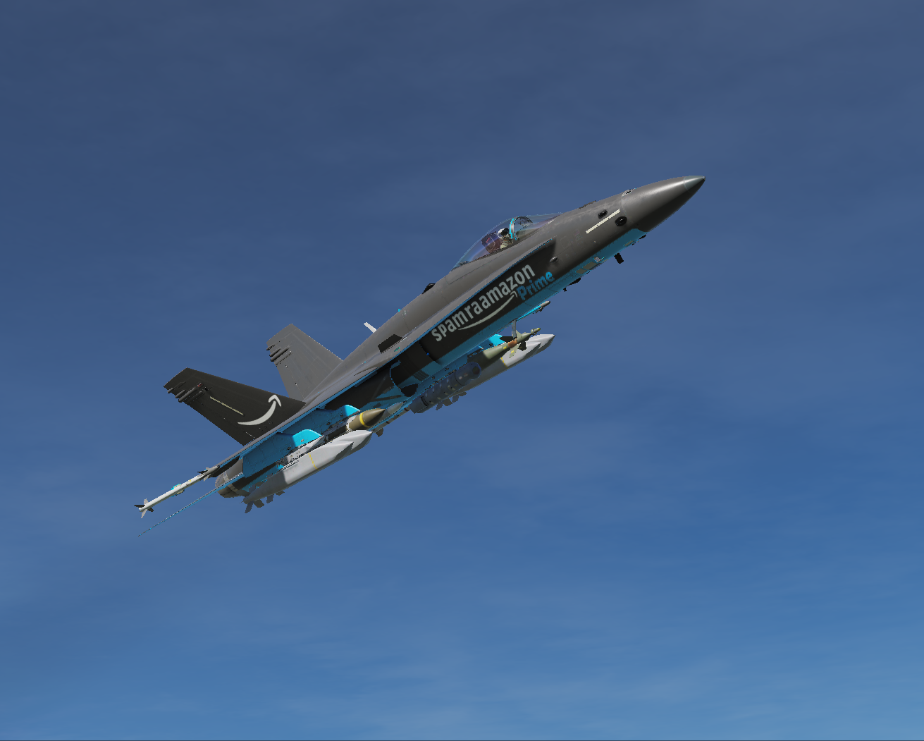 F/A-18C spamraamazon pack(age)