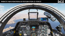 DCS: NS 430 Navigation System for C-101СС