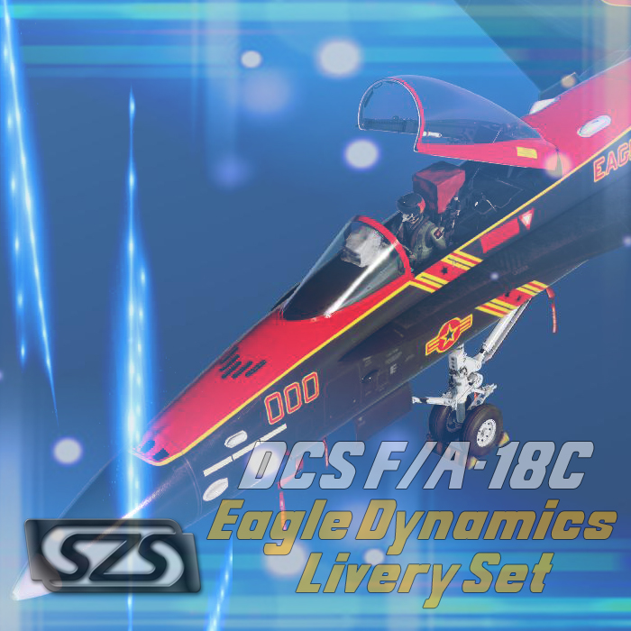 DCS F/A-18C Lot 20 USN Eagle Dynamics Special Edition Set - 2018 - PBR Ready