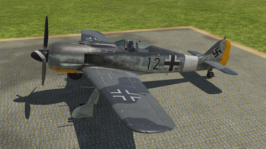 Fw190 A8 Standard with yellow nose