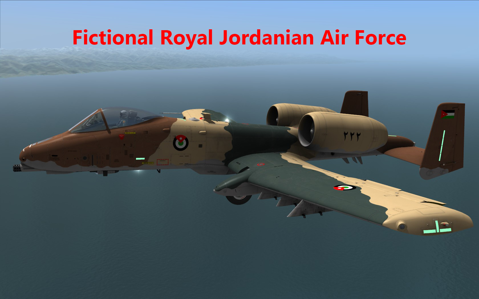 Fictional Royal Jordanian Air Force · more screenshots 7d8f99b1a
