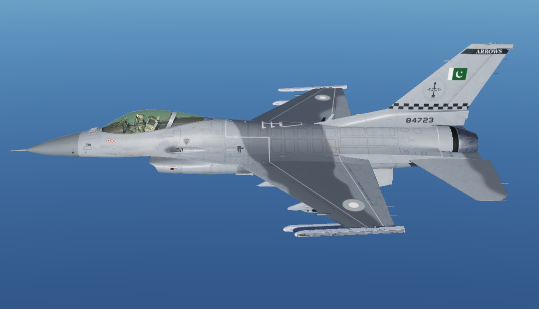 F16C Pakistan AirForce No.11 (84-723) Squadron Livery V1.2