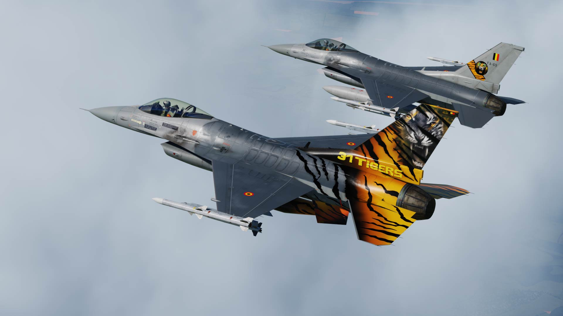 F-16 Belgian Air Force  FA-116 Nato Tiger Meet 2018
