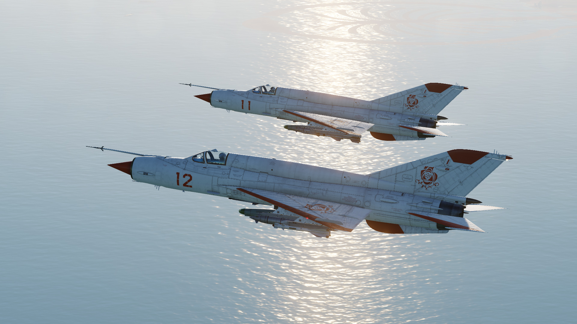 Kingdom of Erusea, Rose Squadron MiG-21Bis
