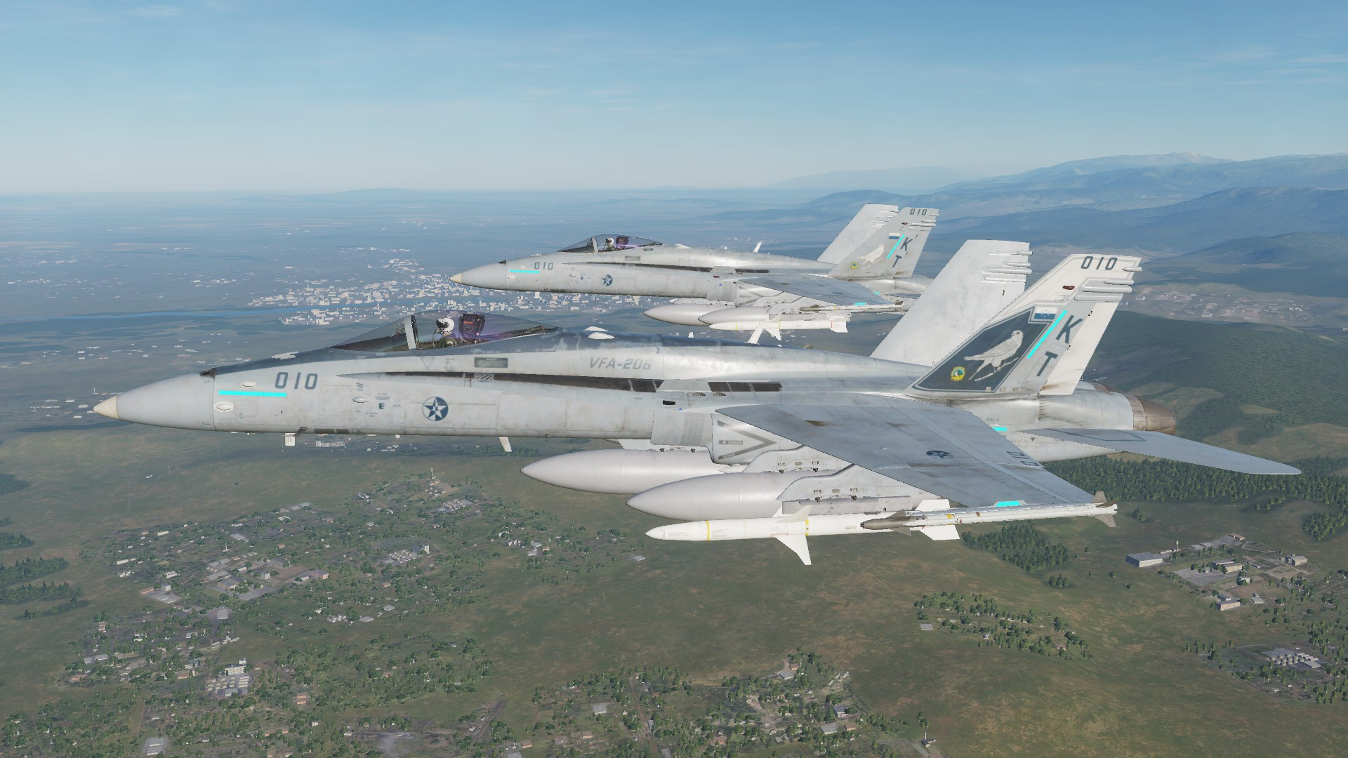 F/A-18C Osean Defence Force VFA-206 (Kestral Version)