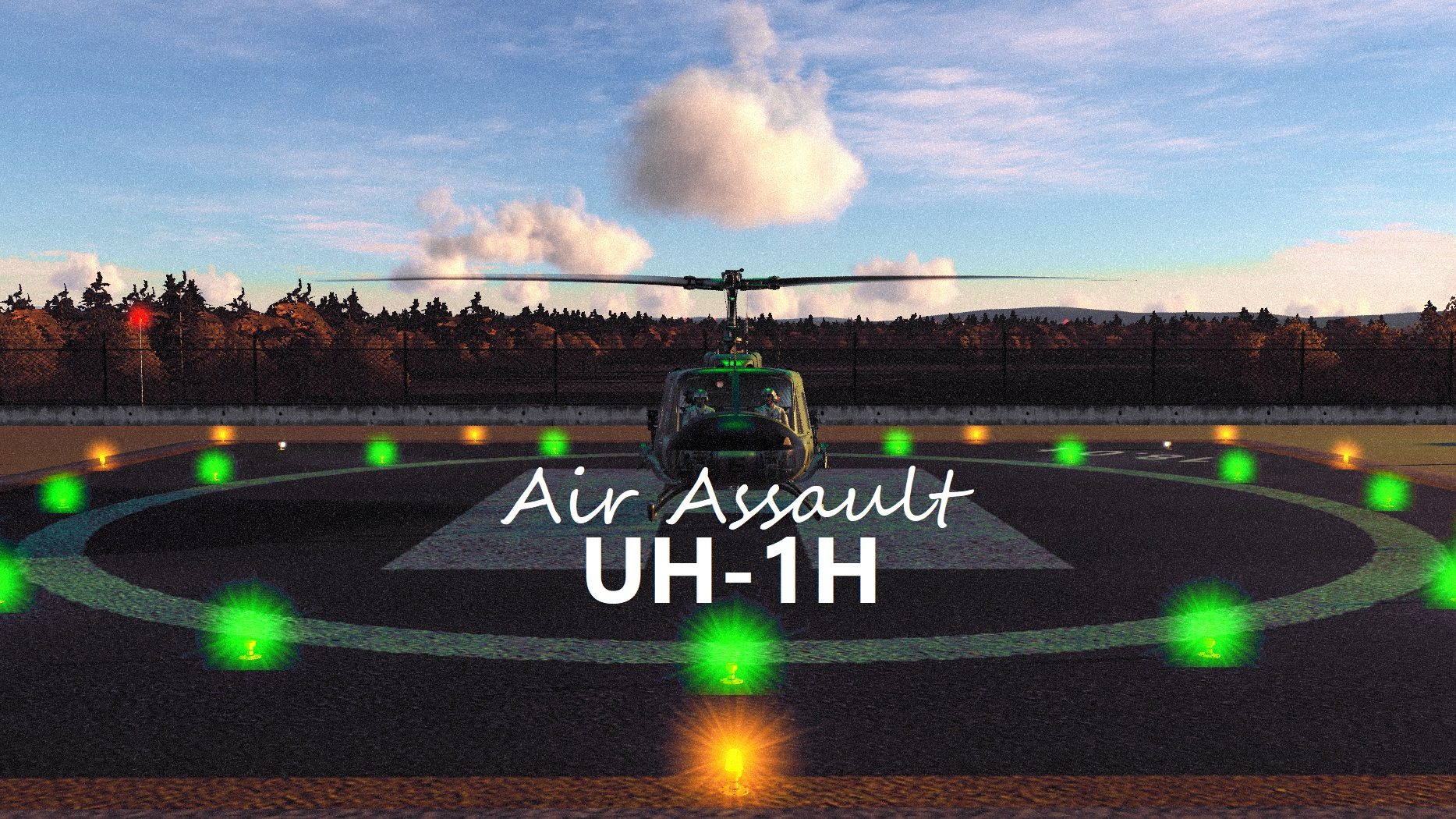 UH-1H Saratov Air Assault v1.0