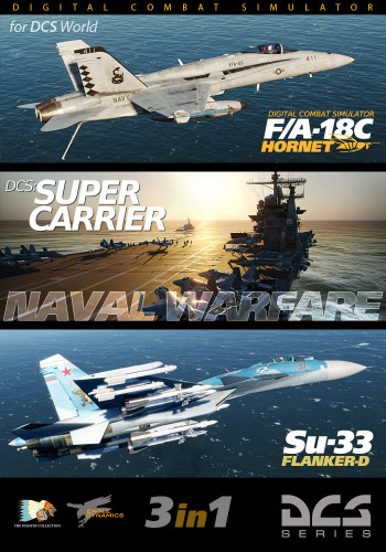 F/A-18C + Supercarrier + Su-33
