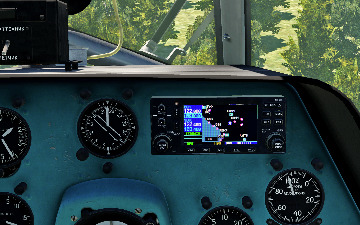 DCS: NS 430 Navigation System for Mi-8MTV2 Cockpit