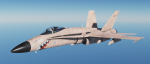 F/A-18C Fictional UK Air Force - Desert Pink - Mig Eater