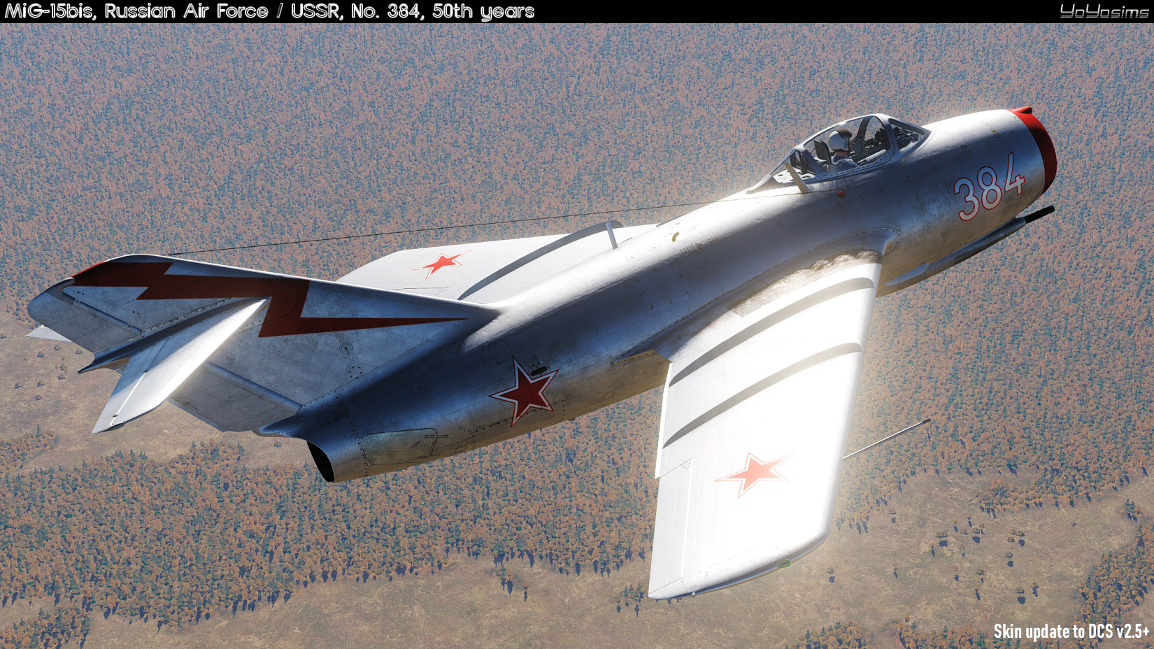 MiG-15bis, Russian Air Force, No. 384