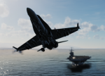 F/A-18 Easy CAS mission