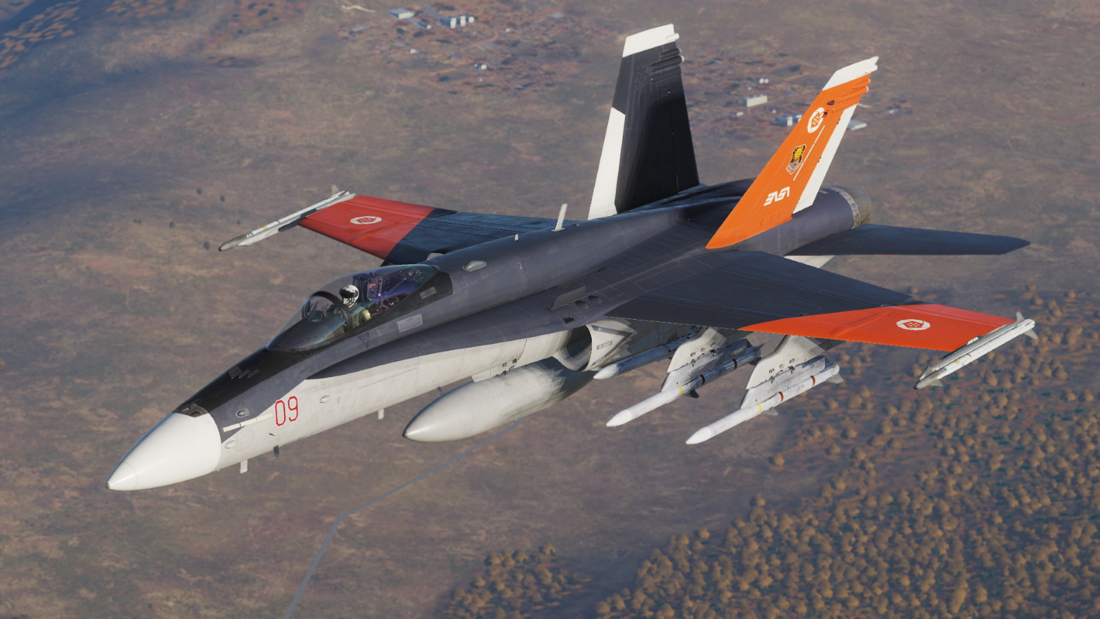 F/A-18C Sol 1 (Mihaly) 68th Experimental Squadron - Ace Combat 7