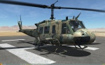 UH-1H Huey - No Markings - Hyperstealth SFW - Jordan