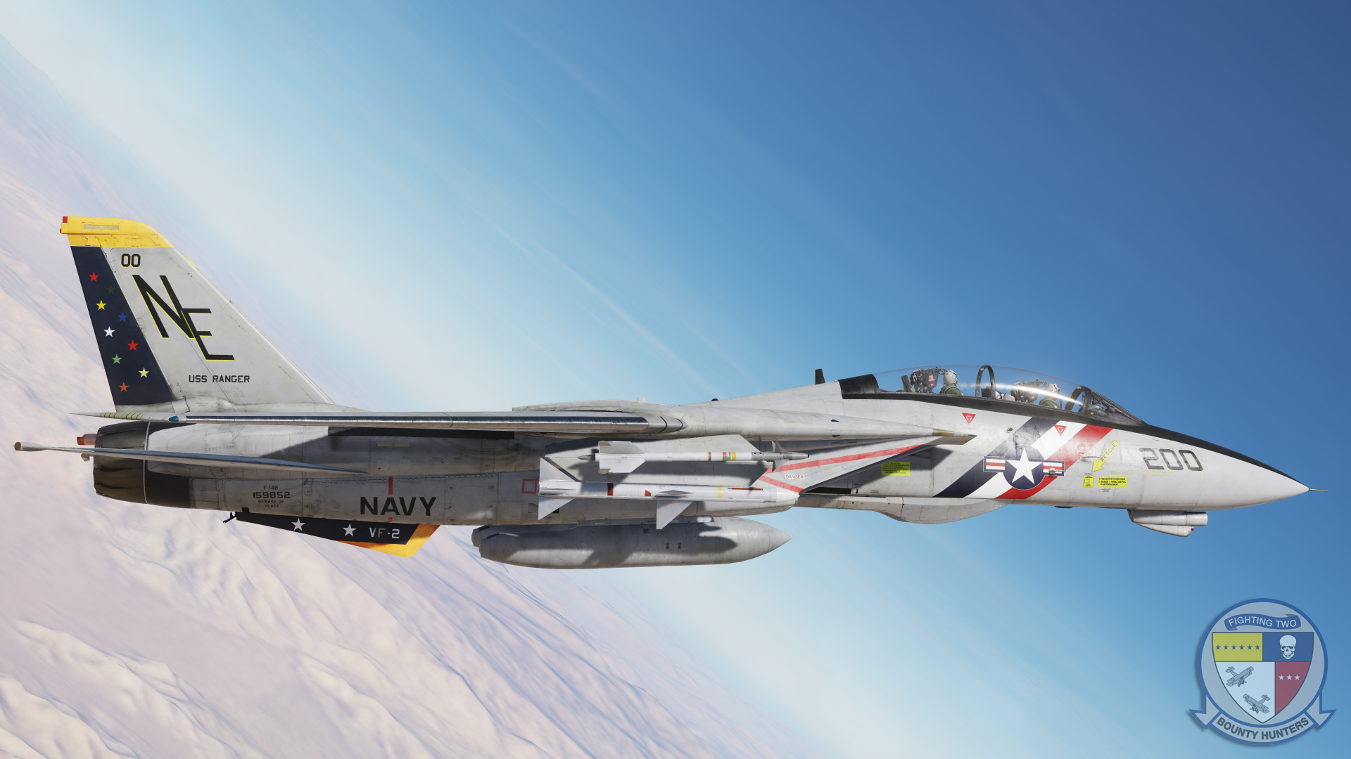 VF-2 Bounty Hunters CAG Colored Stars