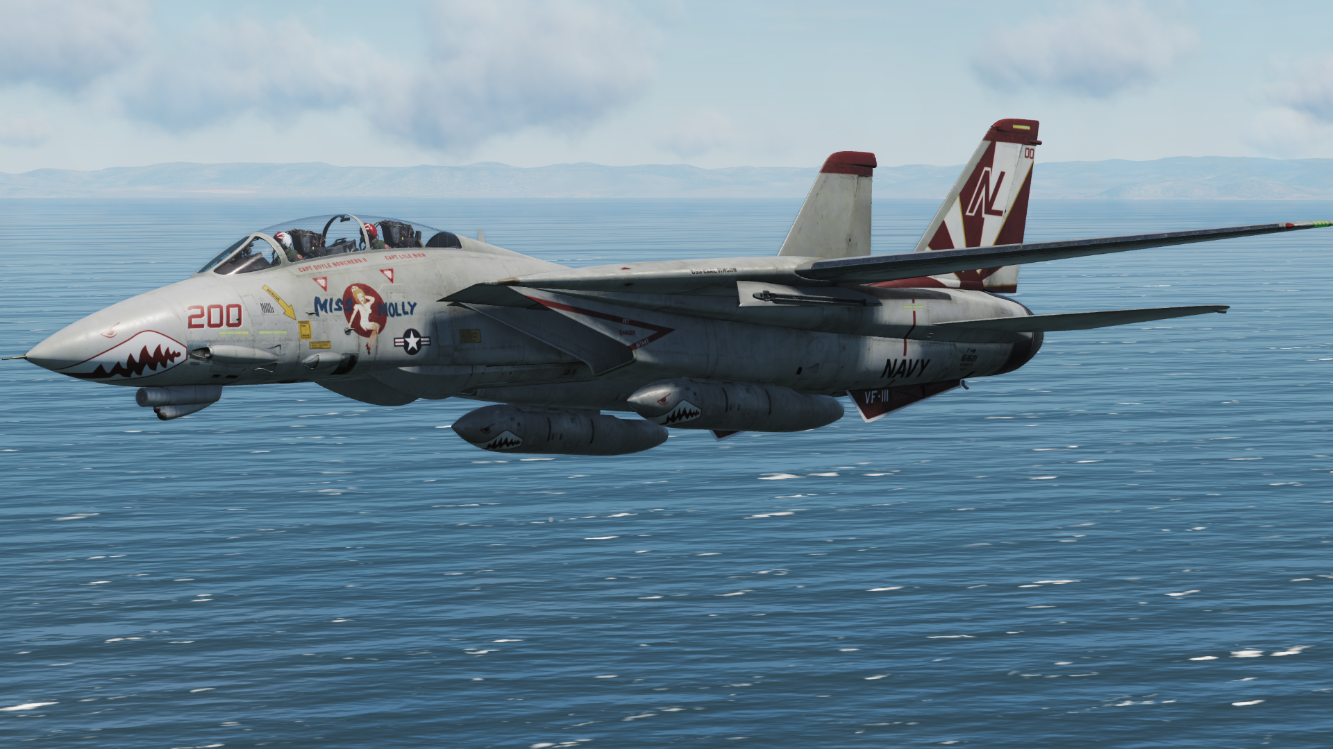 "F-14B - VF-111 Sundowners 200 ""Miss Molly"" V2.1"