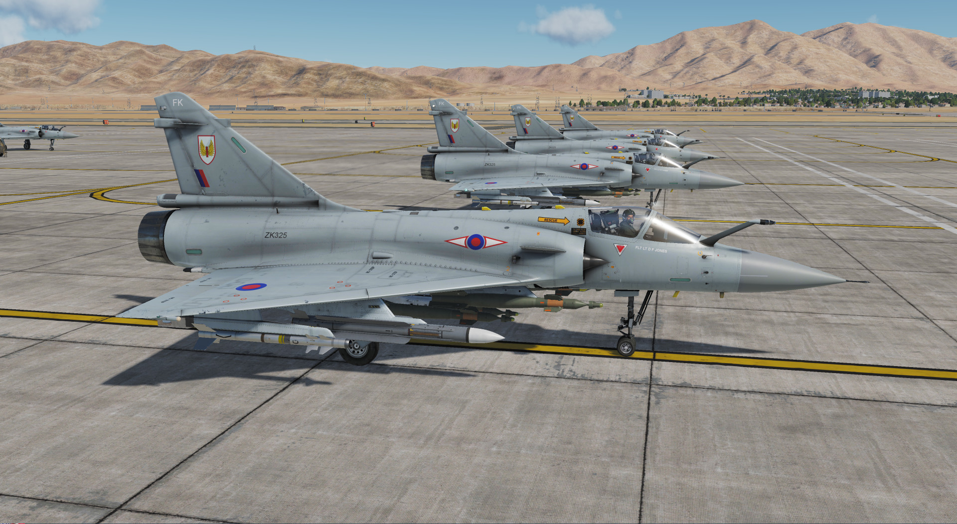 Mirage 2000C - RAF 1 Squadron ZK325 (V4.1 for DCS 2.5.4)