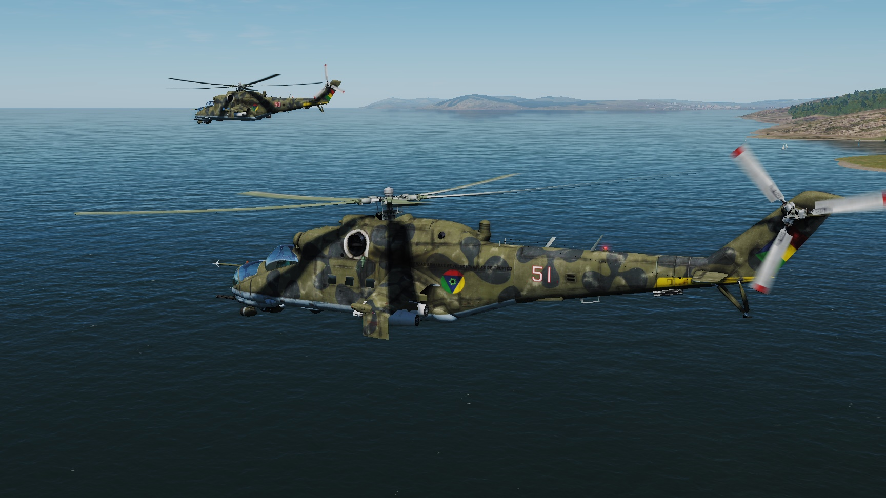 Tropico Mi-24 skin (fictional)