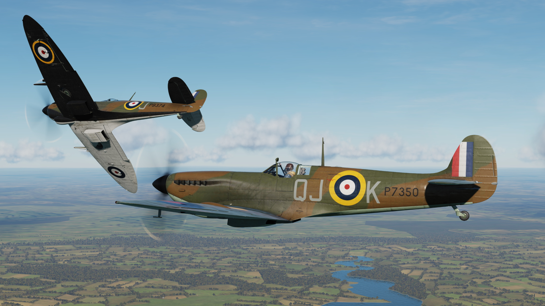 Spitfire IXc Early Camouflages 1940 v4
