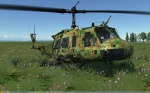 UH-1H Huey - No Markings - Octocamo Woodland (Fictional)