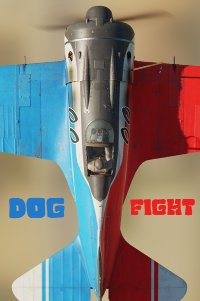 Dogfight Ishak Red / Blue