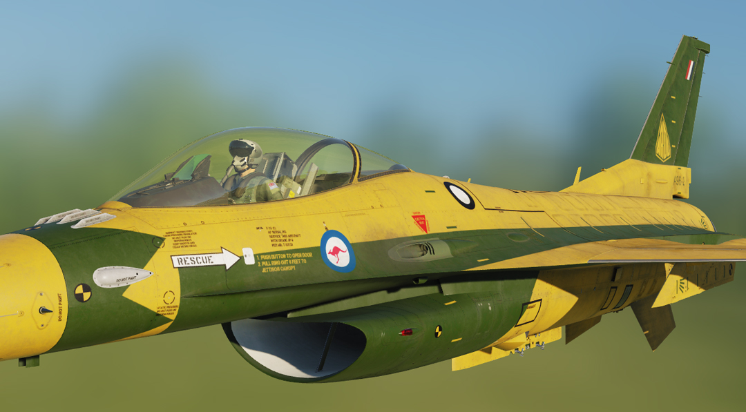 ARDU F-16C Australia RAAF (Fictional) *Updated*