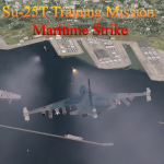 Su-25T Maritime Strike Training Mission