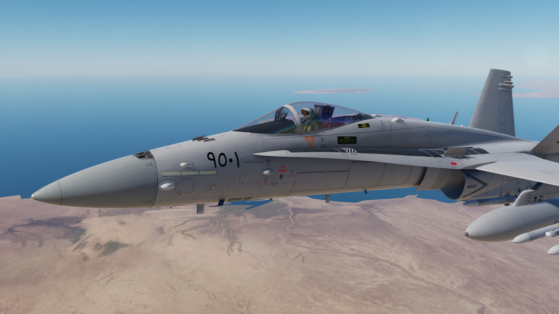 Fictional Egyptian F-18C