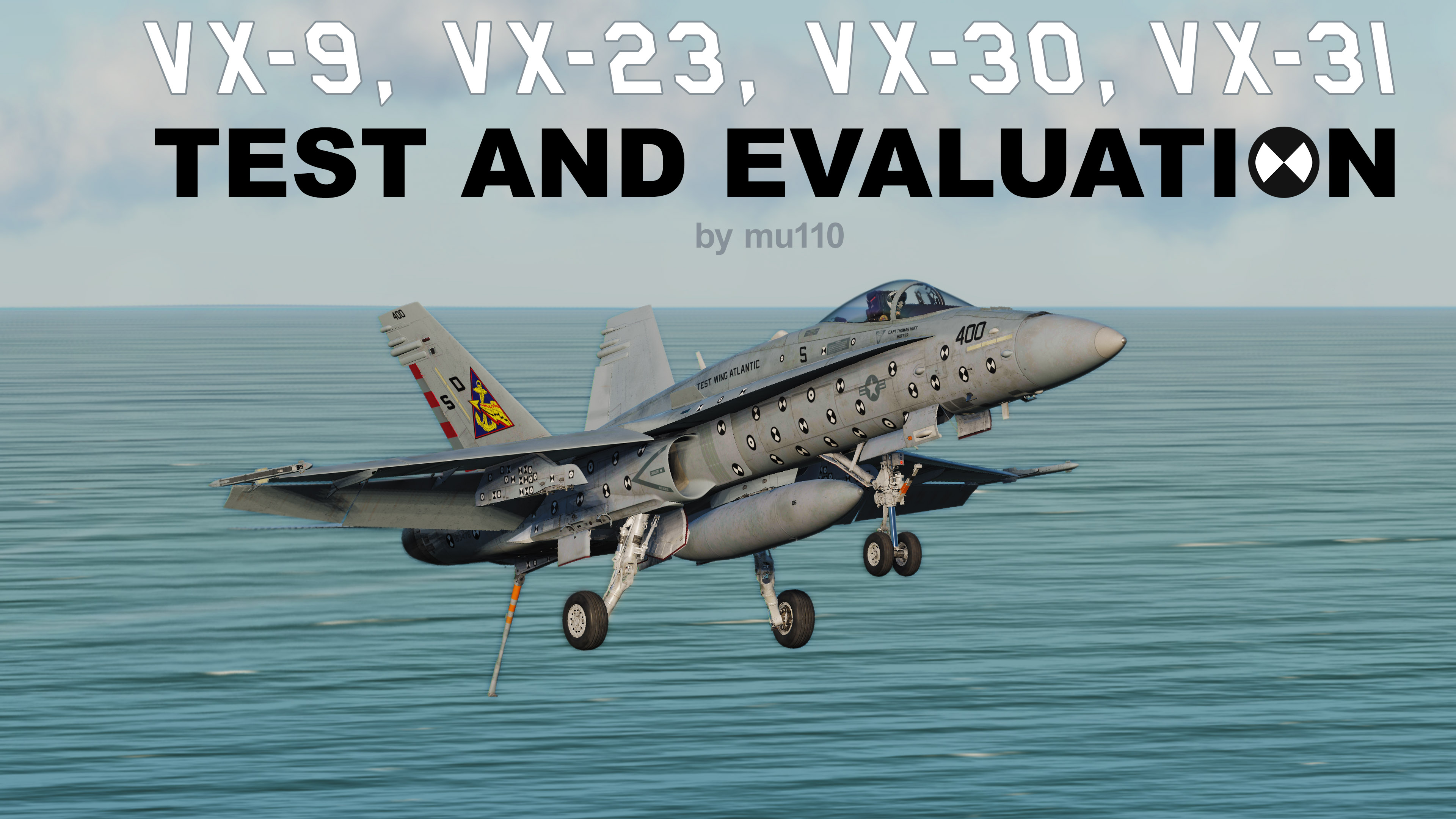 VX-9, VX-23, VX-30, and VX-31 Liveries for the F/A-18C!