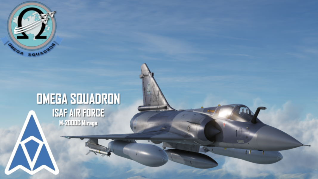 Ace Combat ISAF Air Force - Omega Squadron M-2000C [SWW]