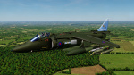 RAF Harrier GR.5 Early 1990s NATO Green Skin Pack
