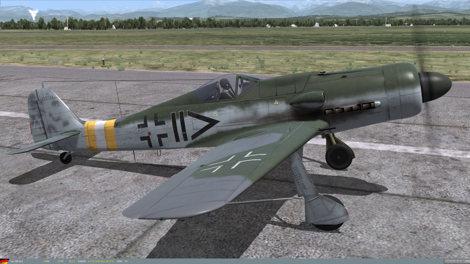Siegfried Schnell FW-190 A8