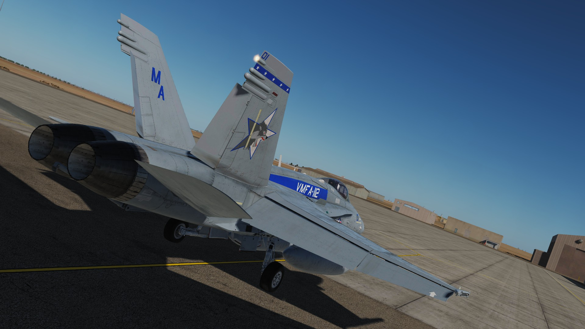 F/A-18A++ VMFA-112 Cowboys CAG, High and Low Visibility *Updated*
