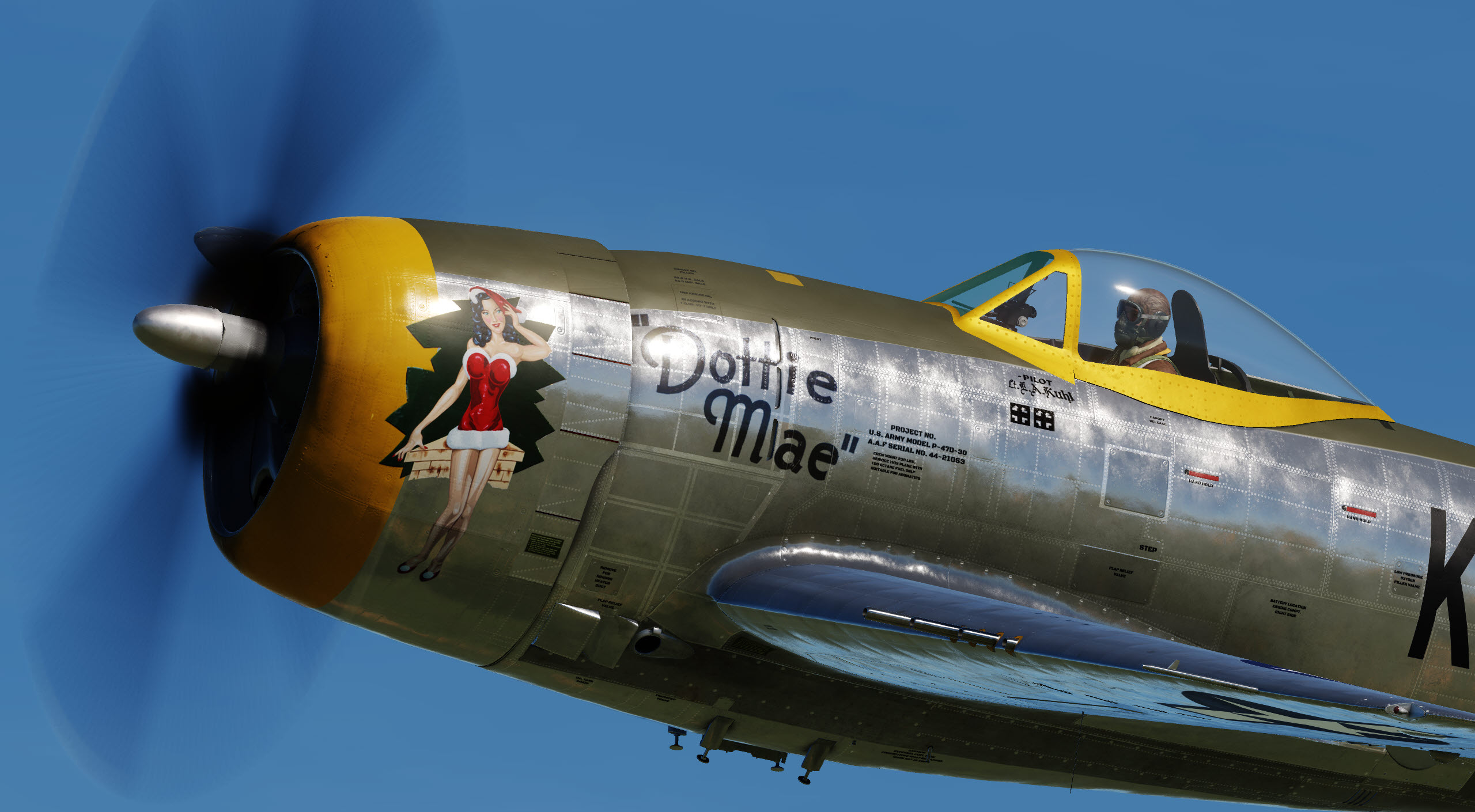 "Flying legends P-47 ""Dottie Mae"""