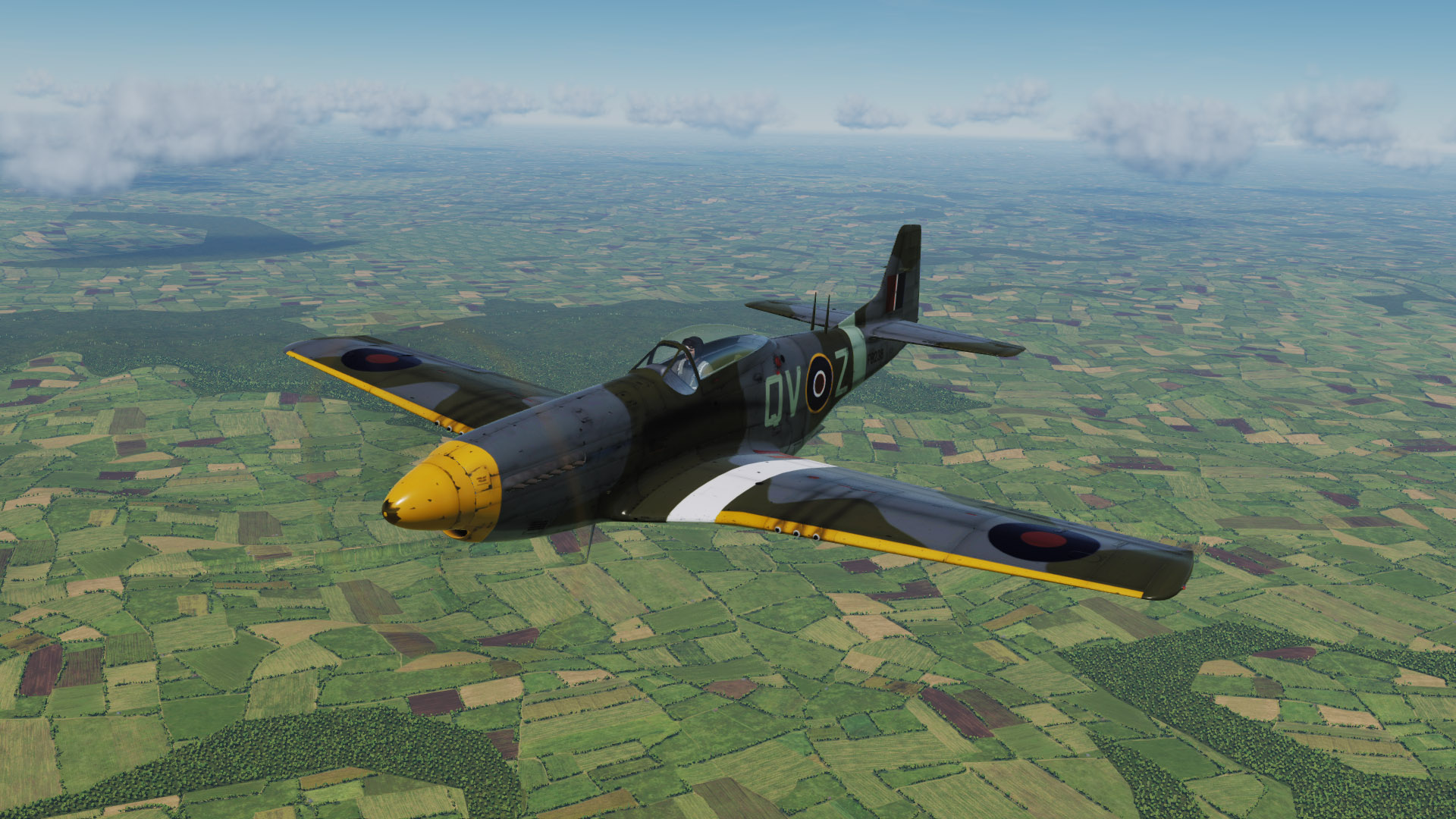19 Squadron RAF Training Mustang Skin Pack