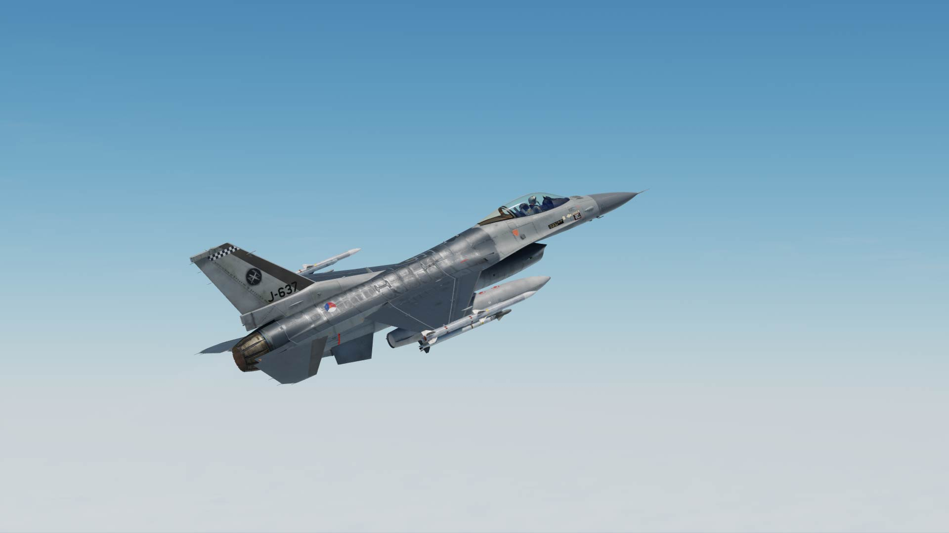 F-16 Dutch Klu 312 SQN J-637
