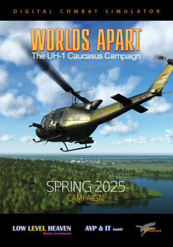 UH-1H Worlds Apart - Spring 2025 Campaign