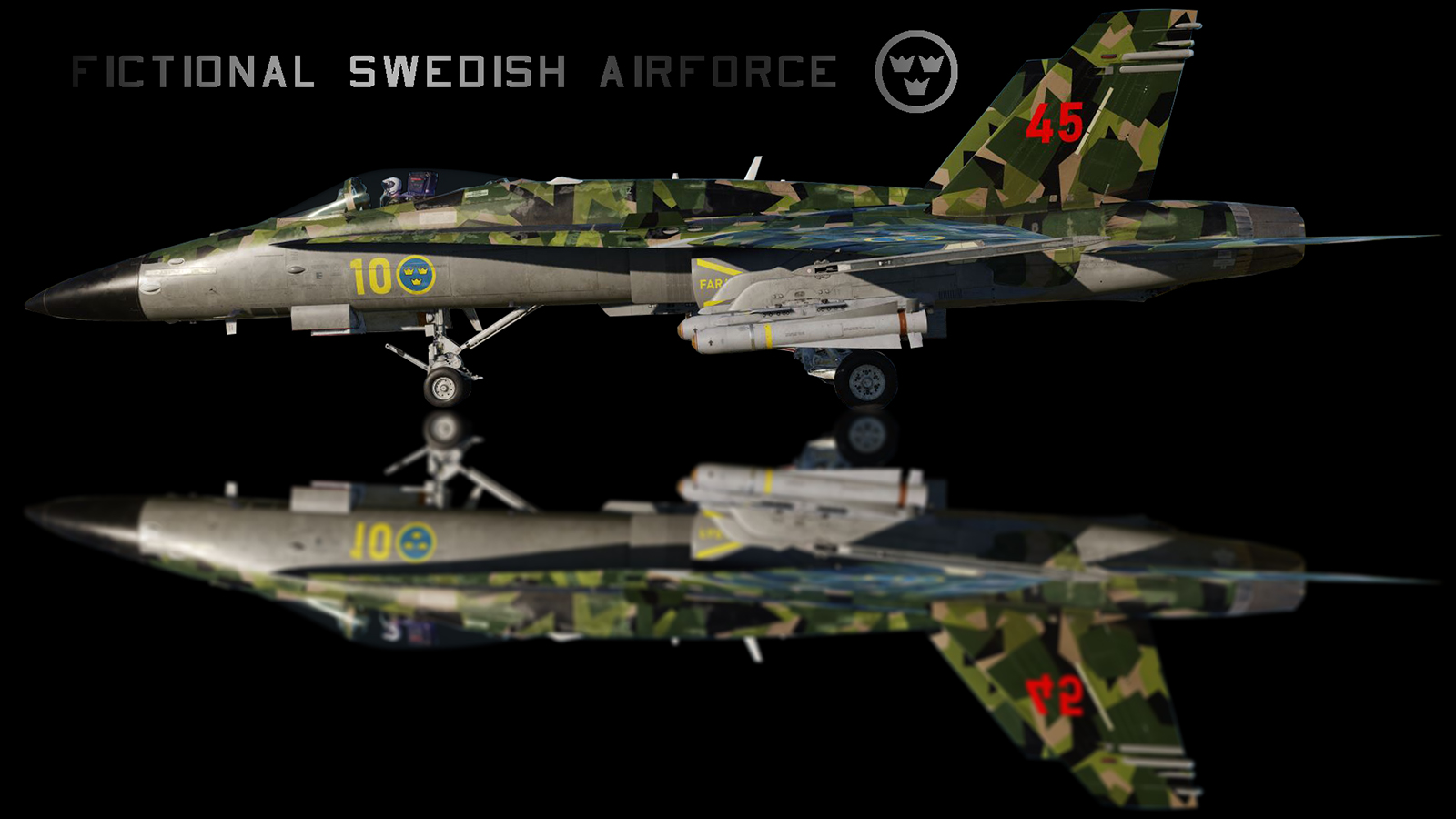 Swedish Air force (fictional skin)