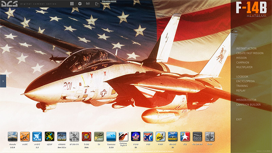 "F14 ""Mighty Wings"" Menu Theme"