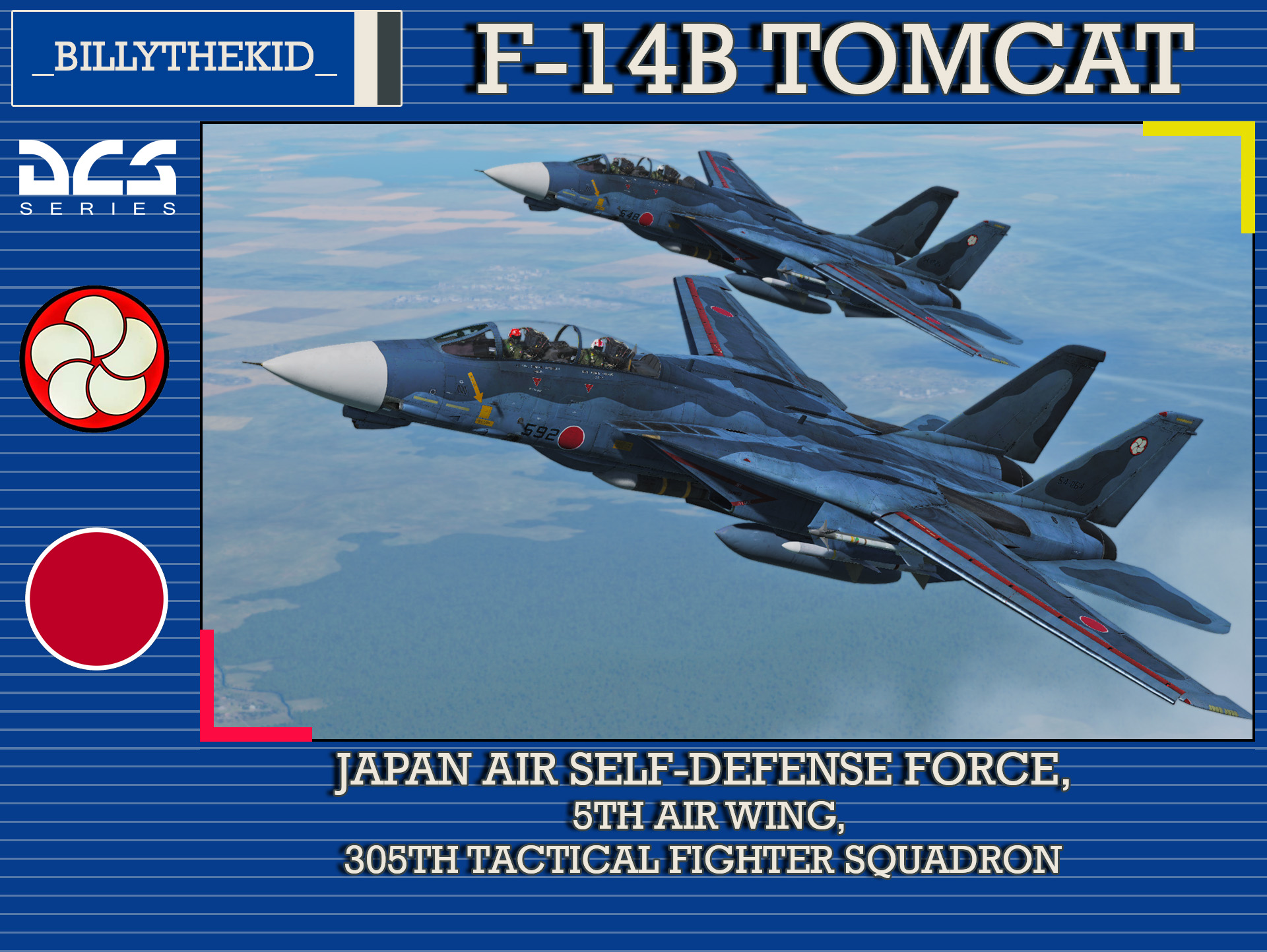 Fictional JASDF 5th Air Wing, 305th Tactical Fighter Squadron F-14J Tomcat
