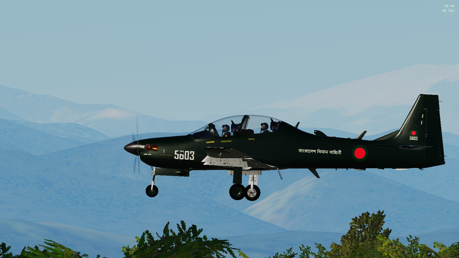 A-29B Super Tucano Bangladesh Air Force Livery