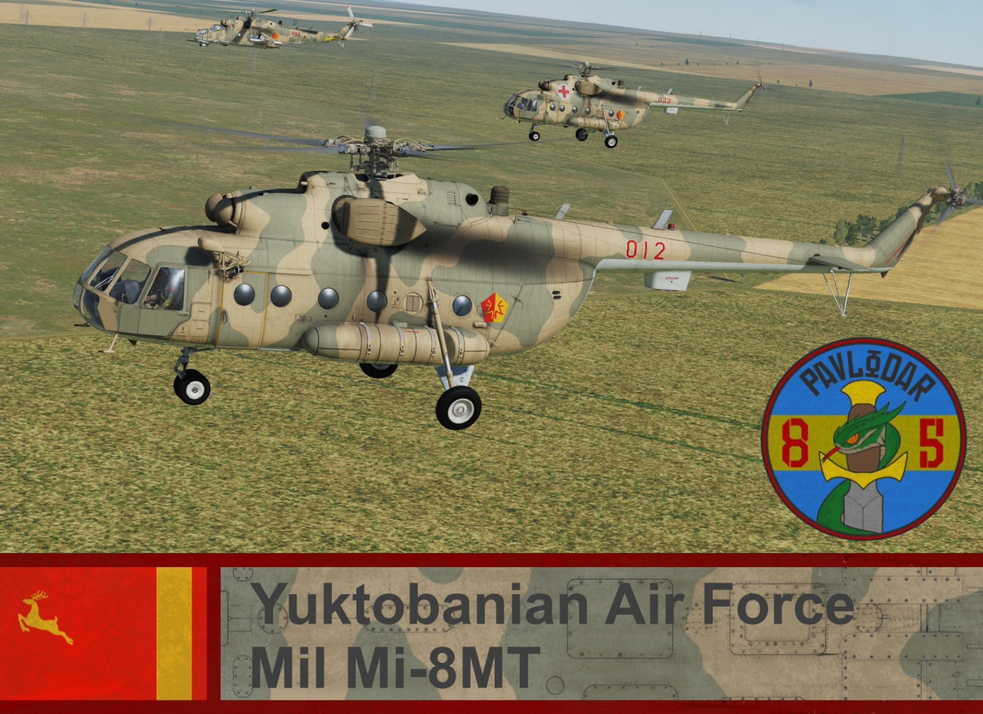 Yuktobanian Air Force Mi-8MT - Ace Combat 5 (85 IHS) *UPDATED*