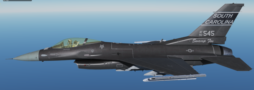 F-16C 157th FS Swamp Foxes SC ANG Have Glass