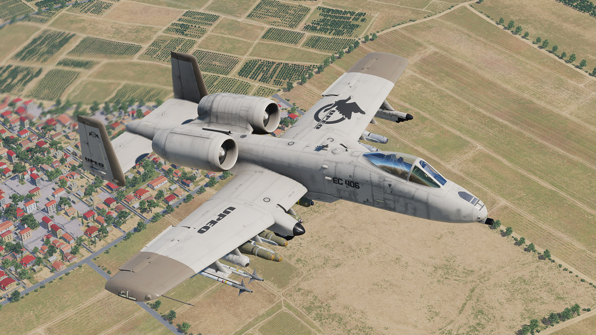 A-10C II - Universal Peace Enforcement Organization - Ace Combat 3