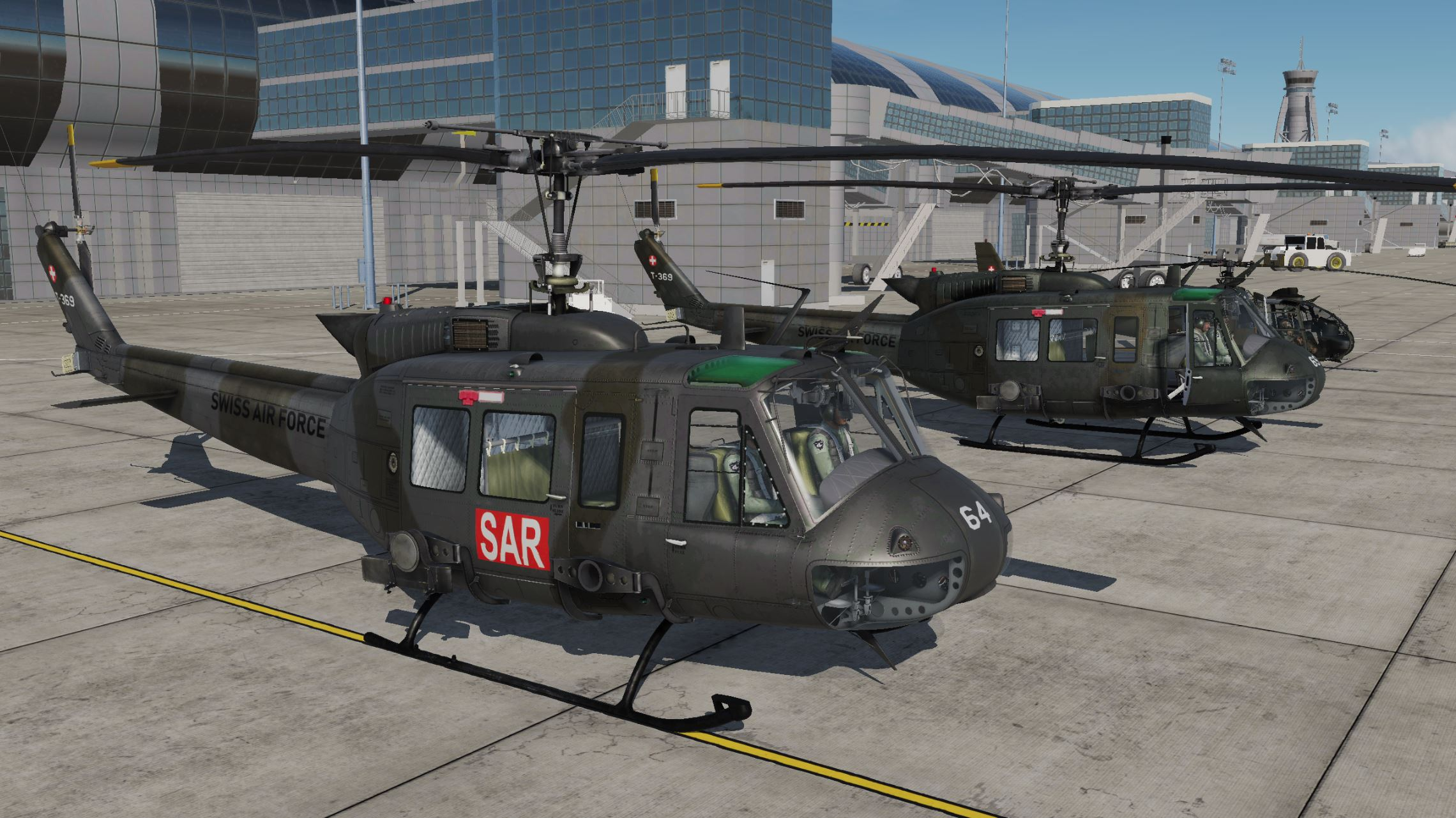 UH-1H -Swiss Air Force (v1.2)