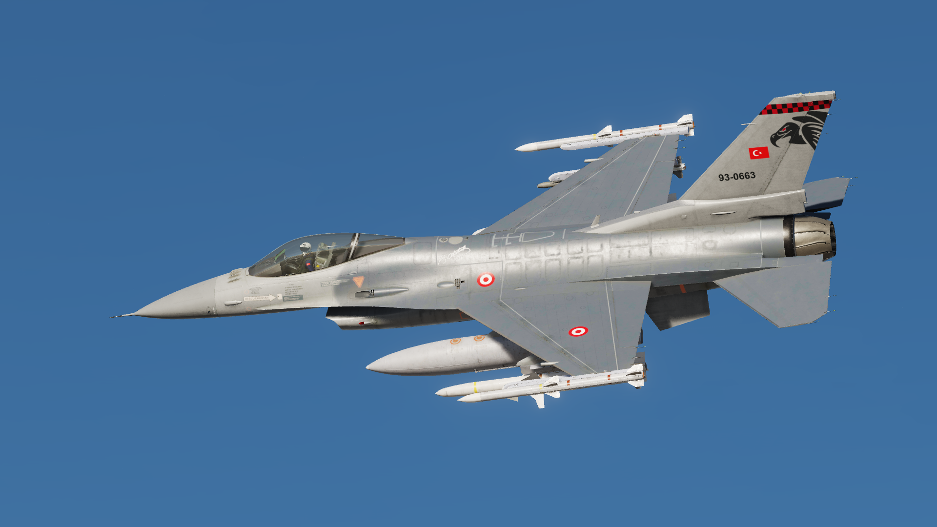 Turkish Air Force (TurAf) F-16C - 141st Vultures
